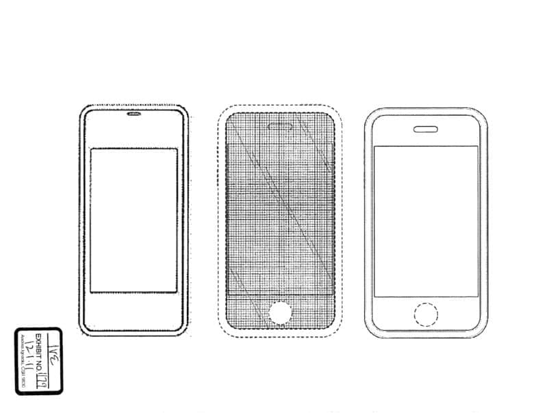 Early sketches of the iPhone by Jonathan Ive
