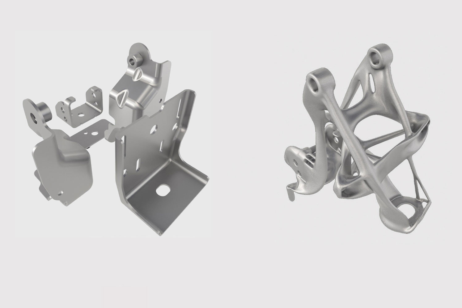 GM generative design seat bracket