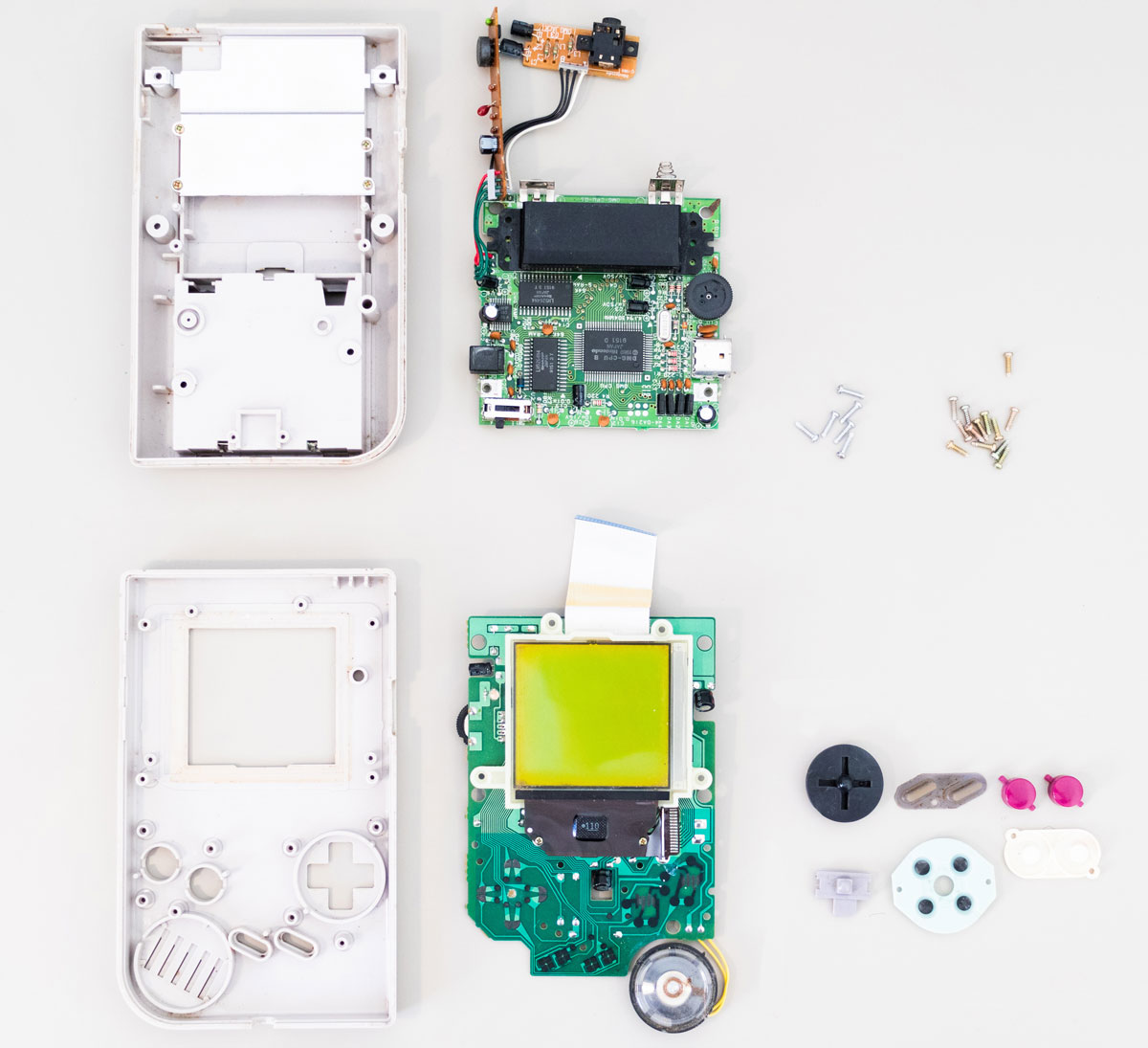 Game Boy Knolling