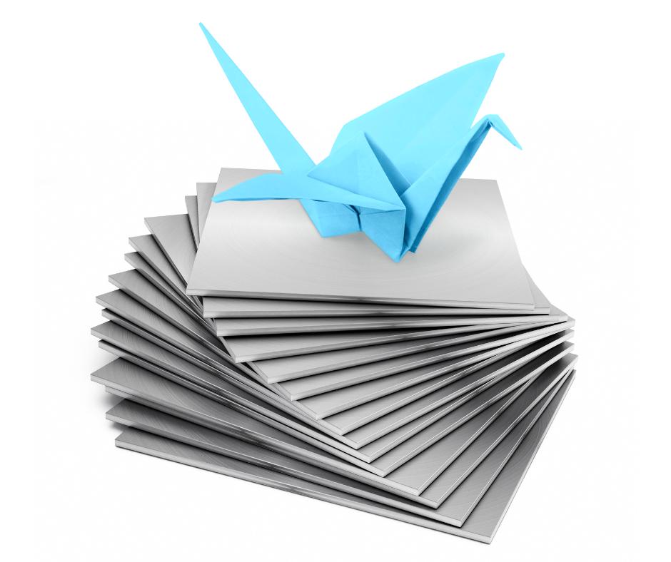 sheet metal origami