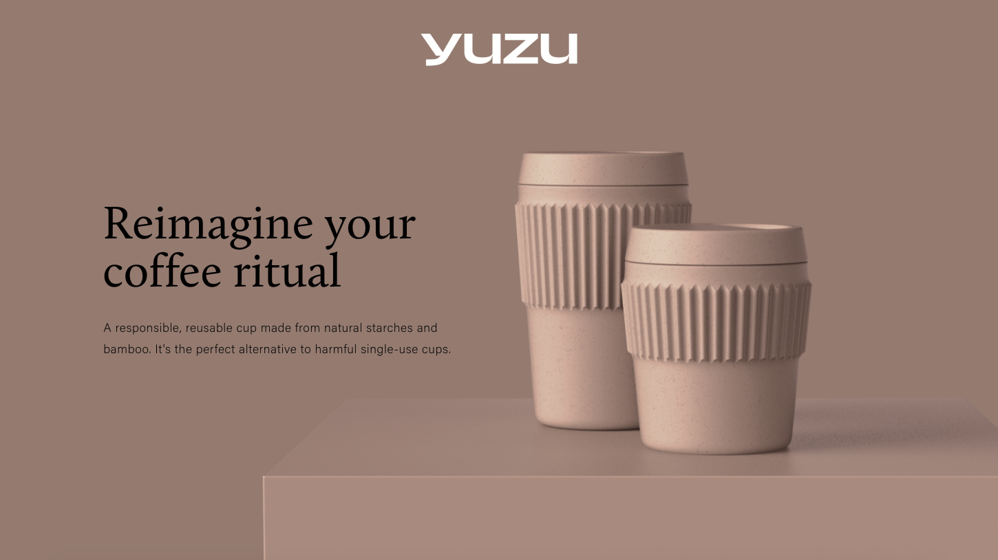 Designing reusable coffee cup